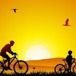 Cycling-Sunrise-Art-1920x1200[fusion_builder_container hundred_percent=